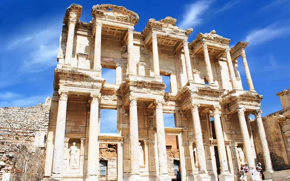 Celsus Library, Ephesus Selcuk Turkey