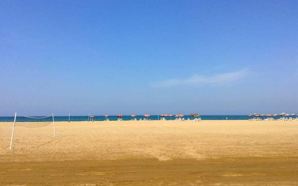 Pamucak Beach, Selcuk, Izmir, Turkey