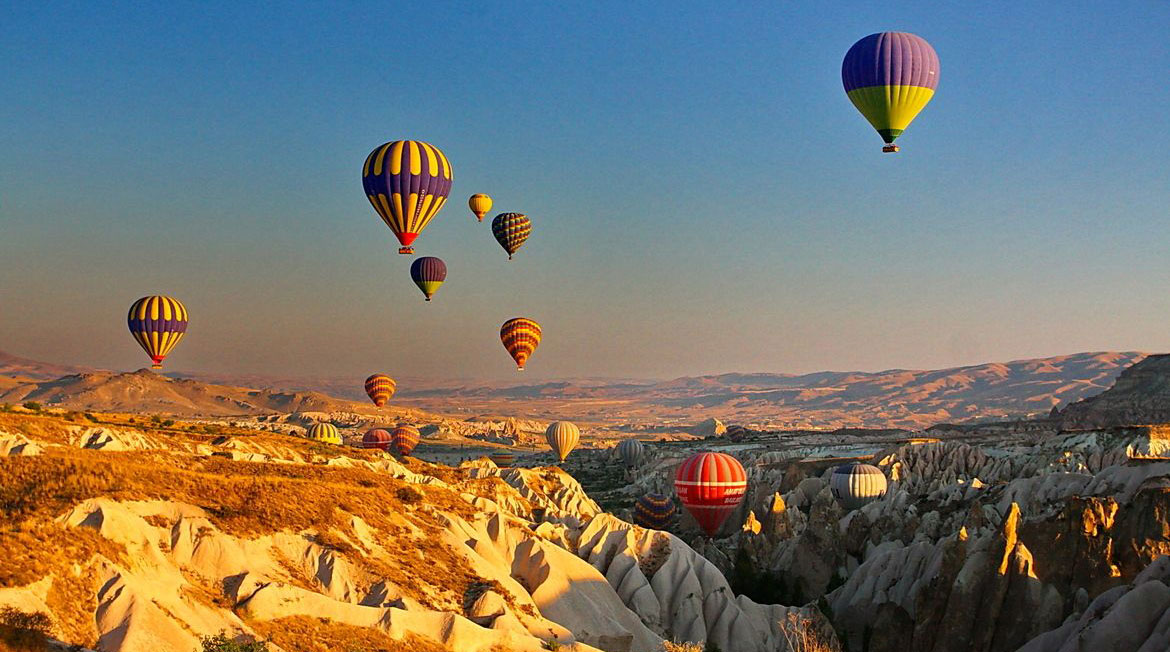 Cappadocia hot-air balloon